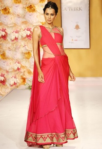 pink-chiffon-and-net-lehenga-set