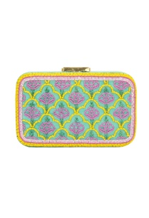 mint-green-glass-bead-embellished-clutch