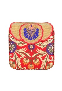 red-box-clutch-with-tibetan-brocade-embroidery