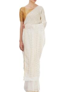 ivory-sari-with-triangular-motifs