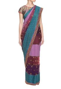 multi-colored-embellished-sari-a-blouse