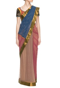 multi-colored-printed-embellished-sari-with-a-blouse