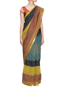 multi-colored-sari-with-panels-embellishments-with-a-blouse