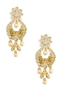kundan-drop-earrings-with-pearls