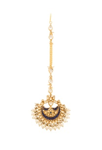 gold-blue-kundan-maangtika-with-pearls