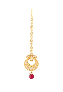 gold-ruby-red-kundan-maangtika