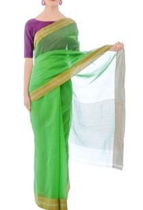 pastel-green-silk-handwoven-sari