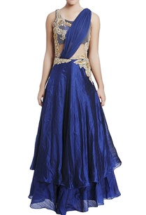 navy-blue-zardozi-embroidered-gown-with-drape-detail