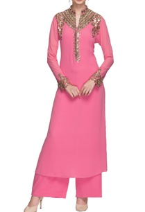pink-mirror-and-sequin-embellished-kurta-with-palazzo