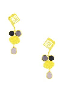gold-finish-earrings-with-stone-embellishments