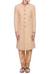 beige-digital-printed-sherwani-with-churidar
