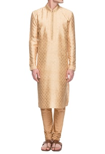 gold-embellished-kurta-set