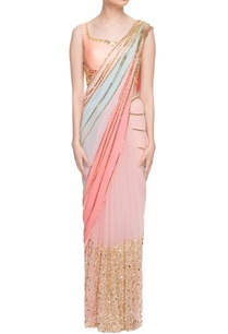 pastel-embellished-sari-with-peach-blouse