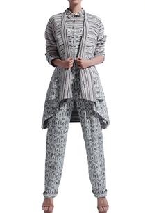 black-grey-printed-long-jacket