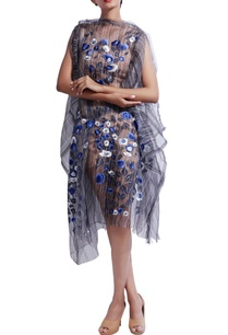 blue-floral-printed-dress-with-inner