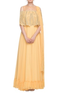 butter-yellow-embroidered-gown-with-a-dupatta
