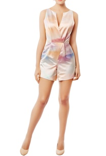 multi-colored-satin-romper