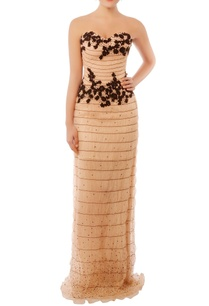pale-pink-black-embroidered-tube-gown