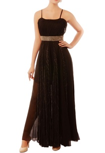 black-embroidered-gown