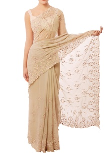 beige-embroidered-sari
