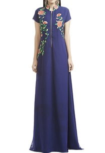 blue-floral-thread-embroidered-gown