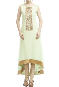 mint-green-gold-sequined-kurta-with-leggings
