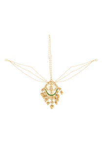 gold-plated-mathapatti-with-kundan-stones-pearls