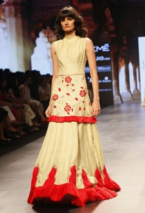 pale-yellow-and-red-embroidered-dress