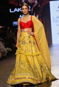 red-yellow-bralette-and-embroidered-lehenga