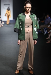 green-denim-jacket