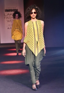 yellow-embroidered-asymmetric-top