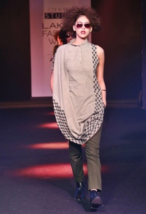 light-olive-draped-kurta