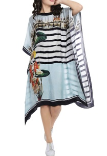 powder-blue-striped-digital-printed-kaftan-dress