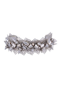 silver-plated-bracelet-with-spikes-cutwork-detail