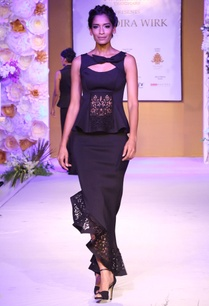 black-asymmetric-skirt-with-cutout-border-detail