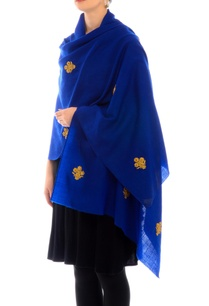 royal-blue-dori-work-cashmere-stole