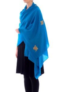 firozi-blue-zardozi-work-cashmere-stole