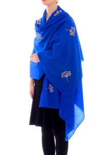 electric-blue-aari-work-cashmere-stole