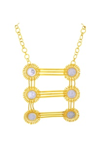gold-plated-layered-statement-necklace