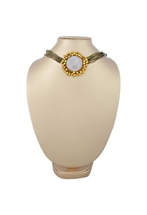 bronze-necklace-with-gold-plated-pendant