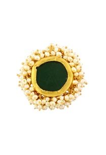 gold-plated-ring-with-emerald-green-stone
