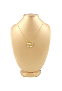 gold-plated-double-layer-necklace