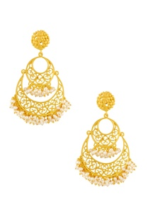 gold-plated-double-layered-cutwork-earrings