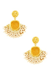 gold-plated-danglers-with-citrine-semi-precious-stone