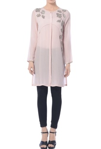 frost-pink-embroidered-kurta