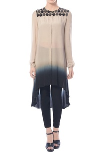 beige-black-ombre-high-low-tunic