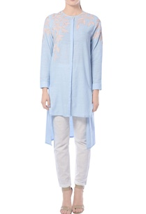 sky-blue-khadi-embroidered-tunic