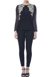 black-high-low-embroidered-top