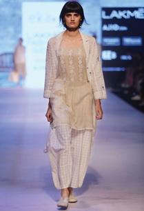 white-block-print-long-jacket
