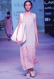 white-striped-maxi-dress